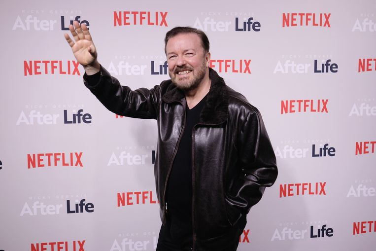 Ricky Gervais  Beeld AFP