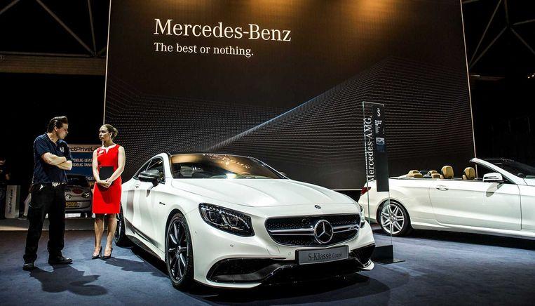De stand van Mercedes op de AutoRAI Beeld anp