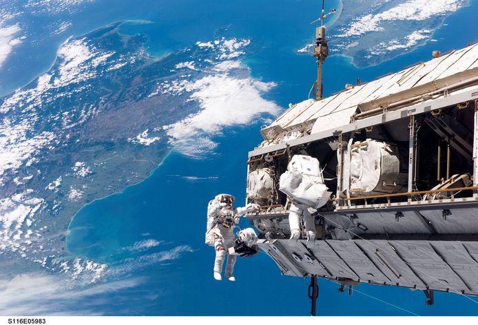 Uitstapjes in de ruimte zijn tegenwoordig doodgewoon.