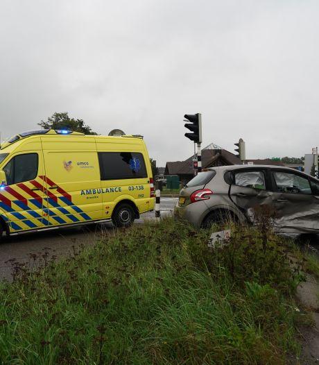 Gewonde bij ongeval op kruising in Hardenberg