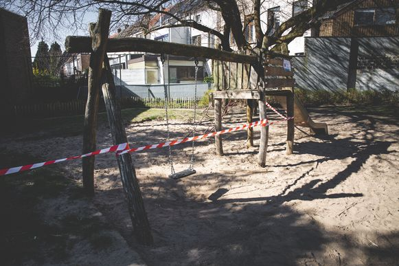 Speeltuinen zijn nog steeds verboden terrein.