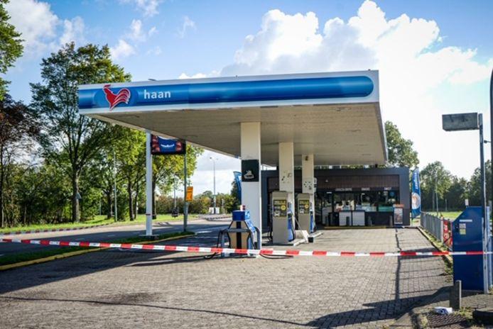 Het tankstation aan de Laan der Verenigde Naties in Middelburg is zaterdag 5 september 's ochtends overvallen.