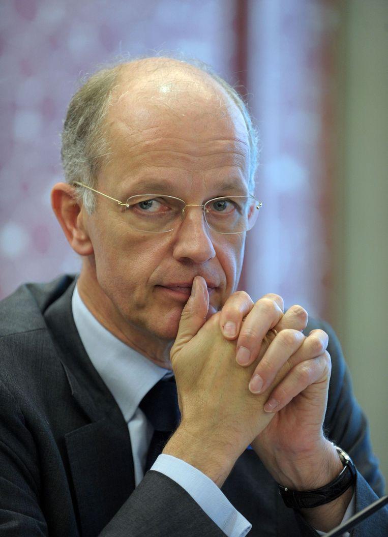 Kurt Block, directeur van chemiebedrijf BASF Beeld anp