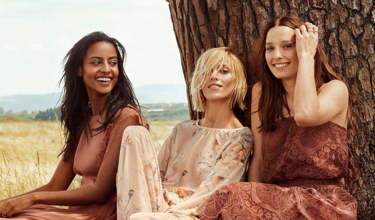 Campagnebeeld van de Conscious collectie van H&M.