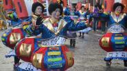Stormweer en regen, maar grootste carnavalsstoet van het weekend ging door