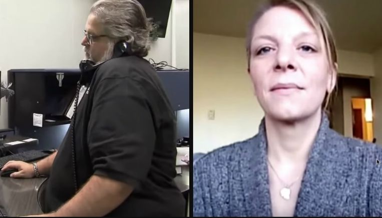 Links: Tim Teneyck. Rechts: Tiffany Urban.