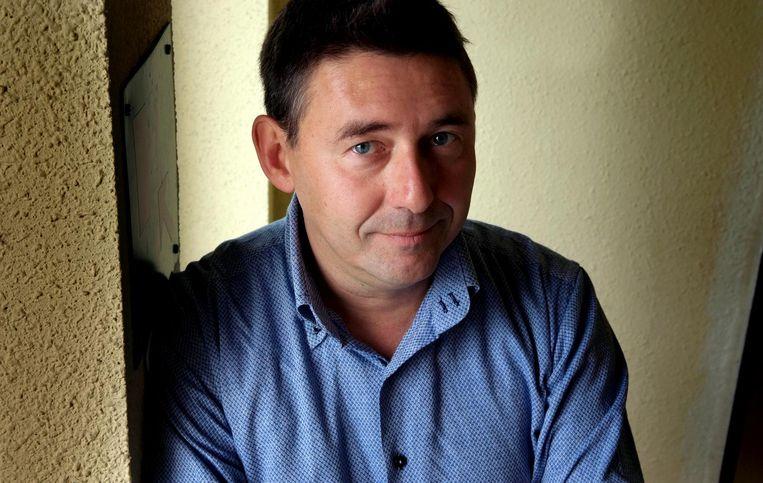 Journalist Rudi Vranckx. Beeld anp