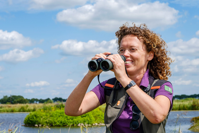 Boswachter Staatsbosbeheer voor Den Haag en het Groene Hart, Jenny van Leeuwen.