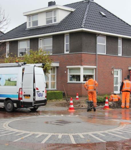 Waterleiding Verenlandweg in Rijssen gerepareerd