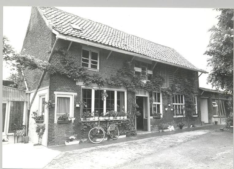 De vroegere klompenmakerij uit 1917.