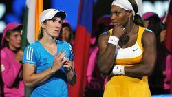 """Justine Henin: """"Andere speelsters hebben geen schrik meer van Serena"""""""