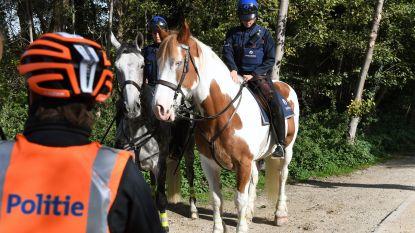 """""""Van influencers tot paardenpatrouilles"""": extra controles om samenscholing tegen te gaan dit weekend"""