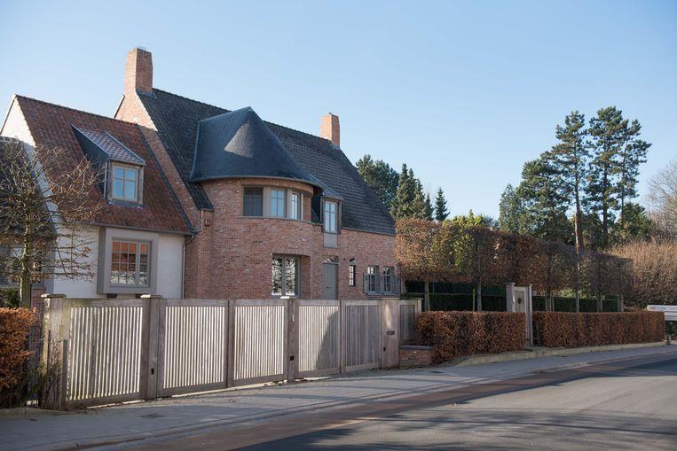 De villa van Delmote.