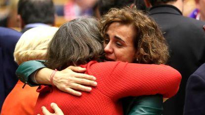 """Emotie troef na officieel afscheid van Britten: """"Dit is geen adieu, maar een au revoir"""""""