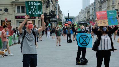 'Light betoging' met 300 aanhangers Extinction Rebellion