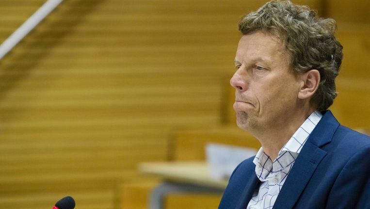 Arie van As, bestuursvoorzitter onderhoudsbedrijf NedTrain van 2006 tot en met 2010 en projectleider technisch onderzoek Fyra van NS in 2013, verschijnt voor de parlementaire enquetecommissie Fyra.