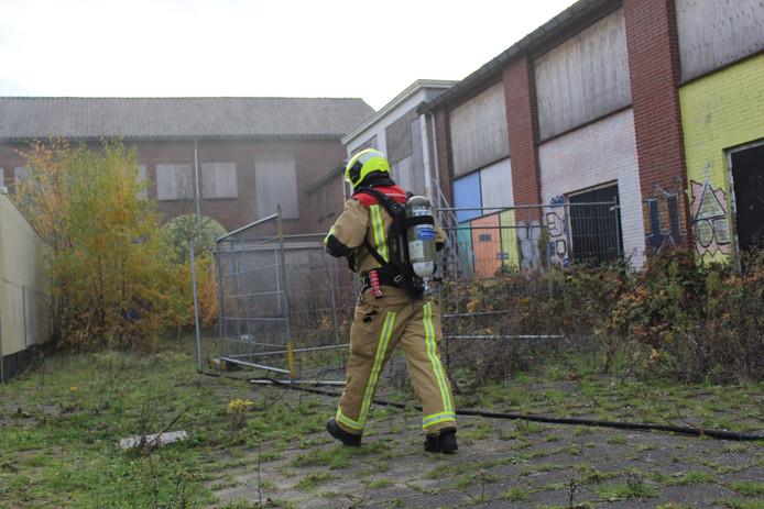 Er woedde onlangs een brand in het oude schoolgebouw van de Dalton mavo in Naaldwijk.