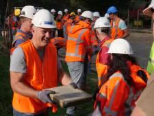 Vrijwillige bouwvakkers geven Noordse Park een metamorfose