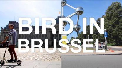 Vlogger legt uit waarom elektrische deelsteps het beste vervoermiddel zijn in Brussel