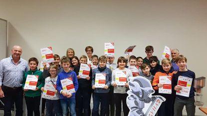 Kinderen sluiten Techniekacademie in Gavere af met diploma-uitreiking