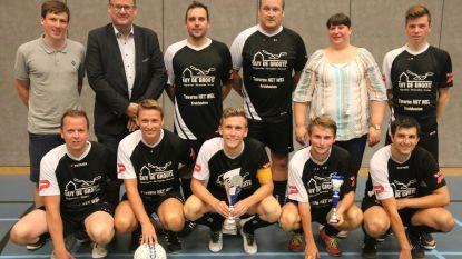 Hoogstraat 9 wint twee trofeeën tijdens sporthalcompetitie