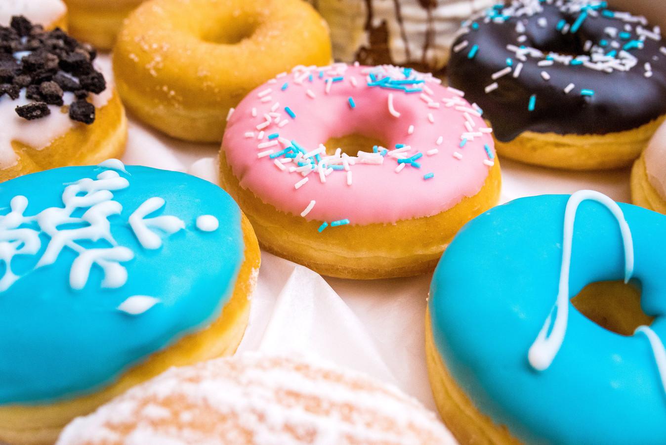 Ook Dunkin' Donuts speelt ook in op het coronavirus.