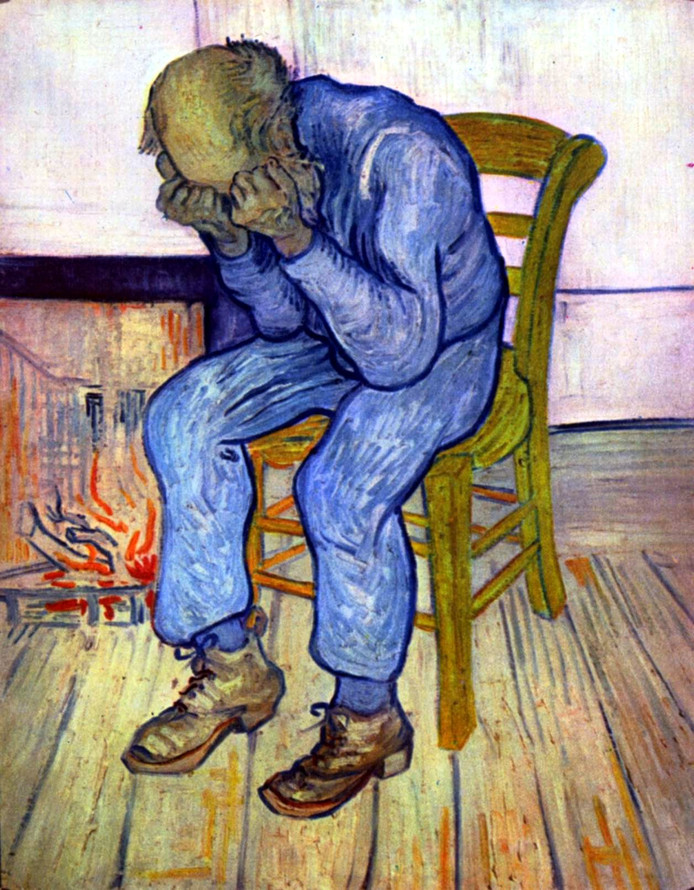 At Eternity's Gate, by van Gogh