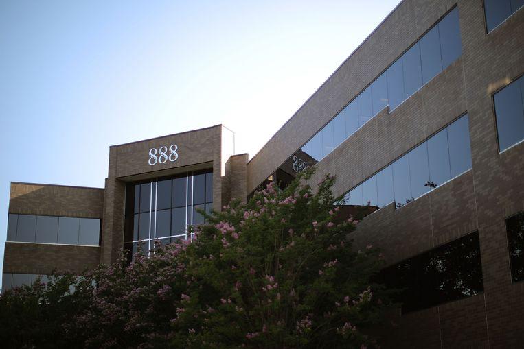 Het gebouw in Annapolis waar de redactie van The Capital gevestigd is.