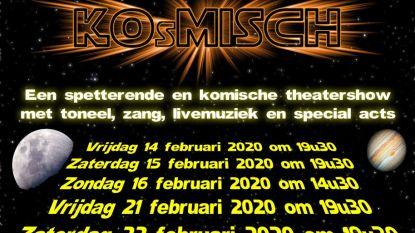 Minitheatra brengt komische theatershow KOsMISCH op de planken