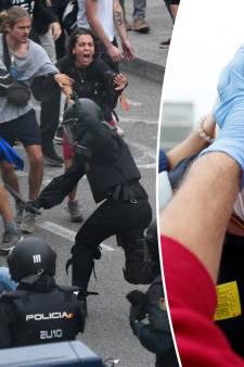 Colère et heurts à Barcelone après la condamnation des indépendantistes catalans