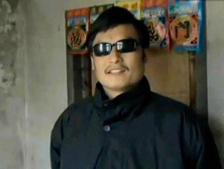 Chen Guangcheng. Beeld ap