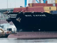 Vrachtschip met megalading drugs was ook onderweg naar Rotterdam