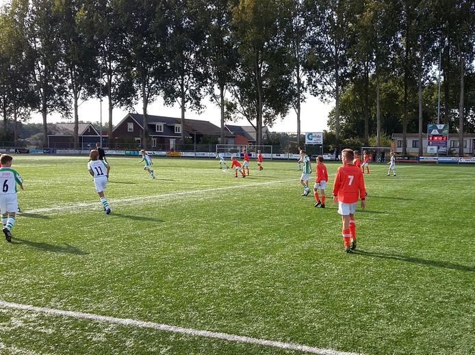 SC Welberg tegen VV Kloetinge (JO13).