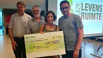 Sinksencomité schenkt vzw Levensruimte 1.500 euro