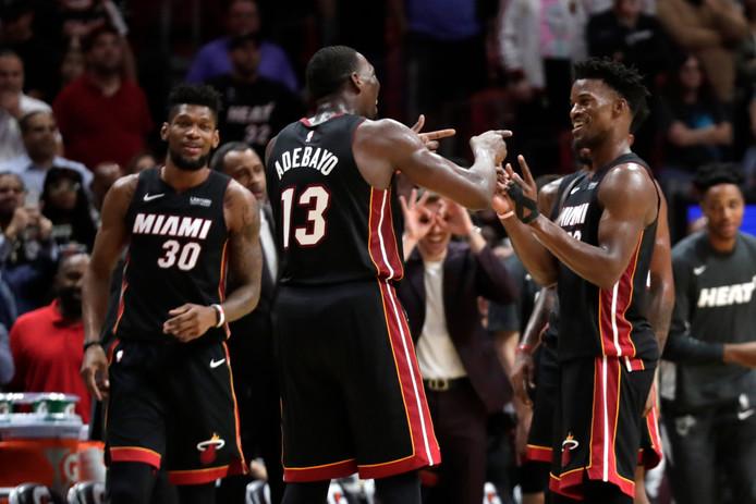 Le duo Butler-Adebayo a porté le Miami Heat contre Atlanta.