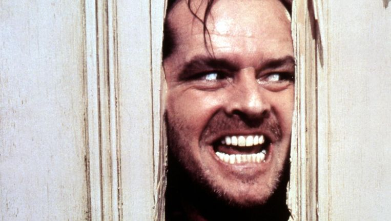 Jack Nicholson in The Shining. Beeld