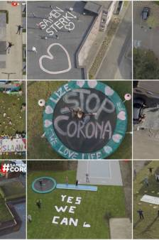 Op de stoep, op je dak, in de tuin: Breda, laat je zien aan de drone!