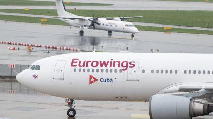 Zeker honderd vluchten geschrapt door staking bij Lufthansa-dochters