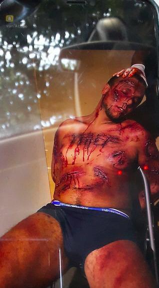 Gabriël C. zette een jaar geleden zijn eigen dood in scène toen een Albanese drugsbende jacht op hem maakte.