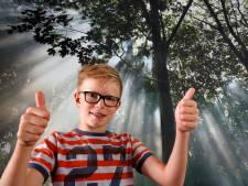 Olaf (10) zamelt duizenden euro's in voor ALS-onderzoek, na overlijden van zijn opa