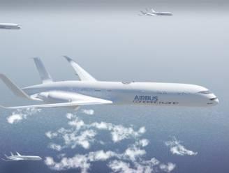 In 2050 vliegen we zoals vogels in formatie op drukke routes