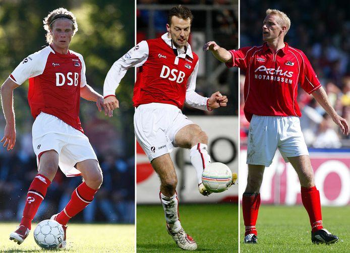 Vlnr: Kees Luijckx (2009), Barry Opdam (2008) en Barry van Galen (2004).