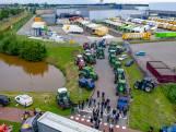 Boerenactie bij distributiecentrum Jumbo in Breda zonder problemen verlopen