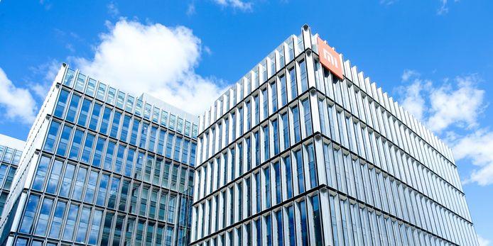 Het hoofdkantoor van Xiaomi in Beijing, China.