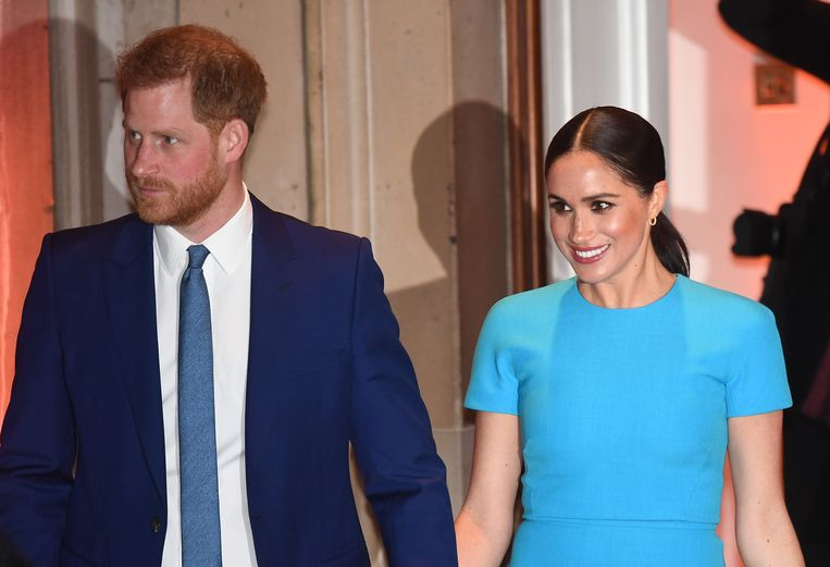 Prins Harry en Meghan krijgen kritiek op hun coronabericht.