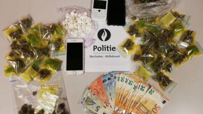 Politie achtervolgt 18-jarige en treft bergen drugs aan in zijn zakken