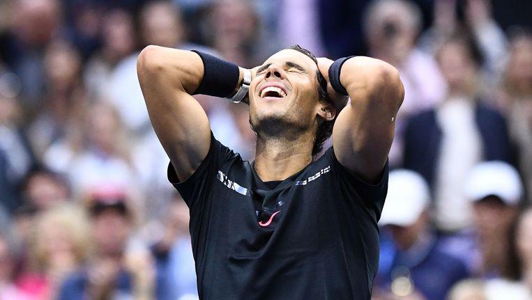 Rafael Nadal Beeld afp