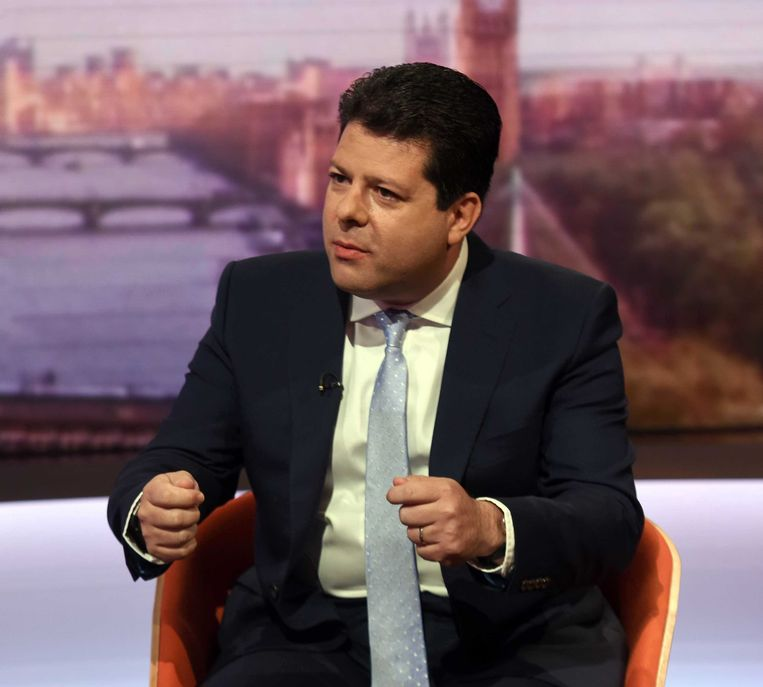 Regeringsleider Fabian Picardo van Gibraltar.