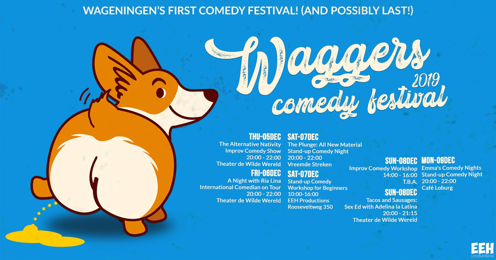 Waggers Comedy Festival 2019