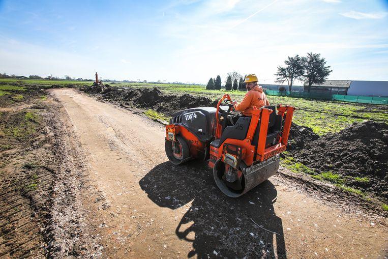 De voorbereidende werken voor het lokale industriedeel zijn al gestart.